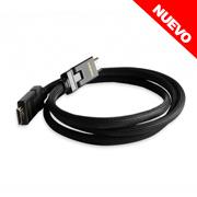 CABLE 1.5M HDMI P/ TV HD CON FICHA ROTATIVA 180�
