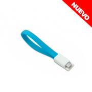 CABLE MICRO USB C/PUNTAS MAGN�TICAS Y CONECTOR